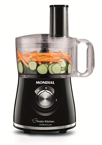 Multi Processador Pratic Kitchen Premium, Mondial Mp-13, Preto Mondial Preto 110v