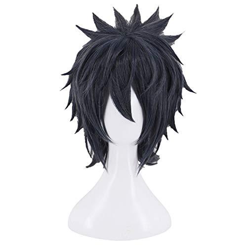 Cerolopy Anime Final Fantasy XV Noctis Lucis Caelum Perücke mit Haarnetz Cosplay Kostüm Halloween Verkleidung Zubehör