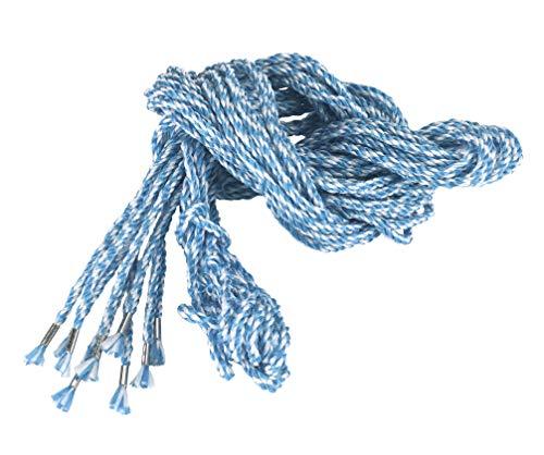Kerbl 29577 steiger gebreid pak van 10 2,5 m blauw-wit