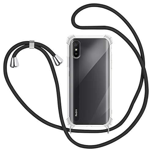 Fundas Para Xiaomi Redmi 9A Con Cuerda Marca SAMCASE