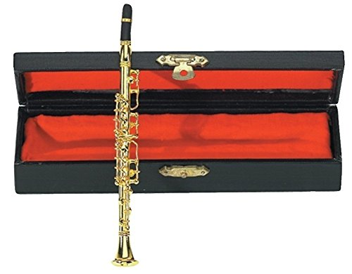 Gewa 980582 Miniaturinstrument Klarinette im Etui, ca. 15 cm