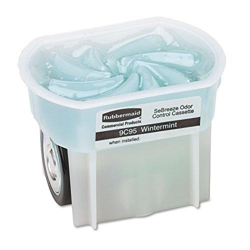 Rubbermaid Commercial SeBreeze Air Freshener Refill, Wintermint, Pack of 6, FG9C95010000