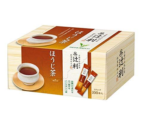 辻利 インスタント ほうじ茶 100P