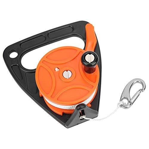 NEWMAN771Her Tauchrolle, Tauchleinenrolle Kunststoff-Tauchrolle für Unterwassertauchen/Höhlen- / Wracktauchen, Wracktauchen Taucher Taucher Kajak Ankerausrüstung