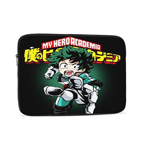 My Hero Academia Laptop case 13inch, Laptop Cover Shockproof Slim Briefcase Laptop Sleeve, Protective Laptop Carrying case for Business Travel School