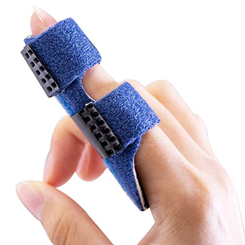 Povihome Finger Splints, Trigger Finger Splint, Finger Brace Support for Finger Pain Relief, Locking Finger Tendon, Finger Stabilizer - for Index, Middle, Ring Finger