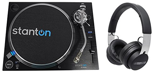 Best Review Of Stanton ST.150 M2 Direct Drive DJ Turntable+Audio Technica Over-Ear Headphones