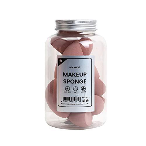 8pcs éponge de maquillage, gourde en forme de maquillage Puff Boxed Foundation Beauty Pong Sponges Eggs (Brown)
