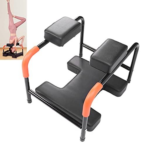 ZJchao Yoga Hocker,Yoga Kopfstand Hocker Yoga Handstand Bench Stand Yoga Kopfstand Stuhl Yoga Umstellungs Stuhl für Arbeiten aus Multifunktionale Für Familie Gym,Ermüdung Entlasten und Körper Bauen