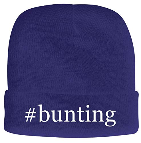 BH Cool Designs #Bunting - Men's Hashtag Soft & Comfortable Beanie Hat Cap, Blue, One Size