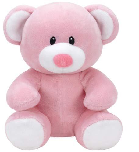 TY T32127 Bear Baby Plüsch-Princess Bär, 17 cm, rosa
