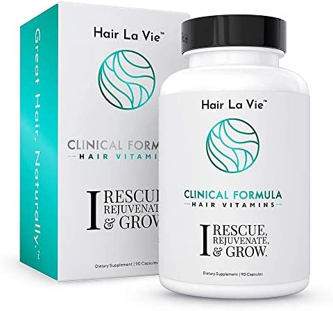 Hair La Vie Clinical Formula Hair Vitamins with Biotin and Saw Palmetto Thicker Healthier Hair product image
