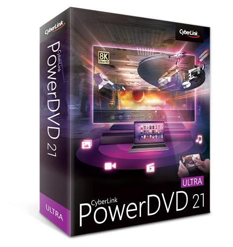 PowerDVD 21 Ultra: Most Powerful Media Player for PCs [Retail Box]