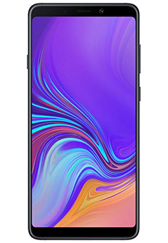SAMSUNG Galaxy A9 2018 SM-A920F Dual SIM - Unlocked - 4G LTE - 6.3' Screen - 6GB/128GB Memory - Quad Camera - 24MP Selfie Camera - International Version - NO Warranty - Black