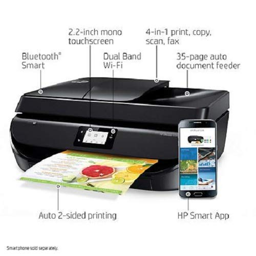 Cheapest Price! HP OfficeJet 5258 Wireless All-in-One Printer Z4B12A