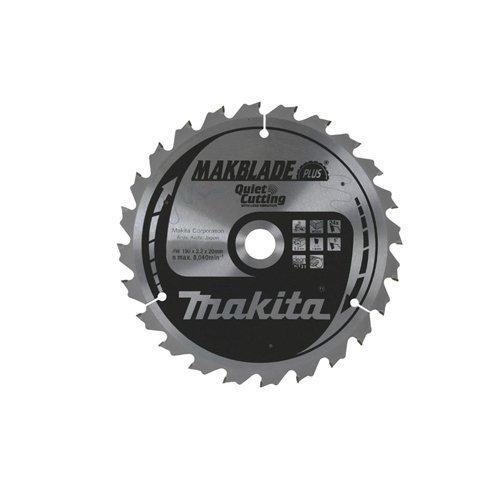 Makita b-08757 Makita b-08757 190 mm x 20 mm x 60 Z Makblade Plus Mitre zaagblad 1 zilver