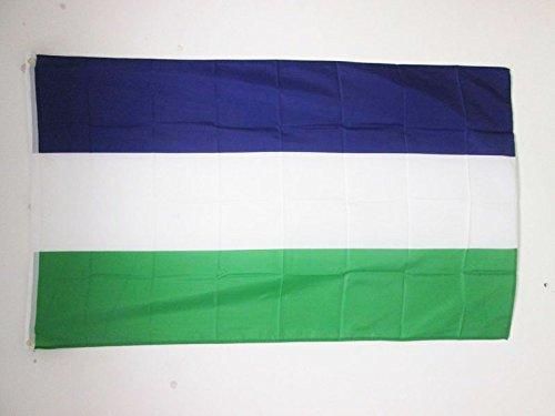 AZ FLAG Drapeau Royaume d'Araucanie et de Patagonie 150x90cm - Drapeau Royaume de Nouvelle-France 90 x 150 cm - Drapeaux