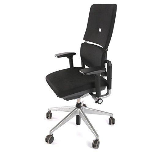 Steelcase Please - Silla de oficina ergonómica, con respaldo de 2 piezas, ideal para directores, incluye bolígrafo 4 en 1