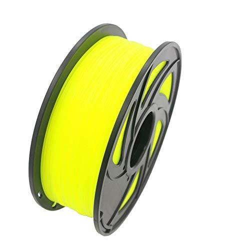NLLeZ 1kg 1.75mm 3D Printer Filament PLA ABS Plastic Material for CTC Reprap K8200 Unimaker Makerbot UP Afinia Solidoodle Delta Huxley (Color : Tran Red)