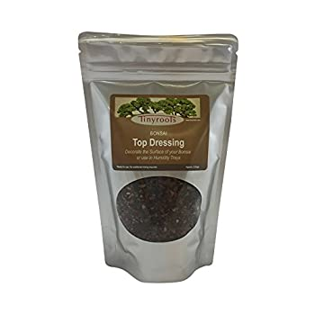 Tinyroots Red Lava Gravel - Bonsai Tree Top Dressing + Great for Succulent and Cactus Design - Ph Balanced with No Chemical Treatment