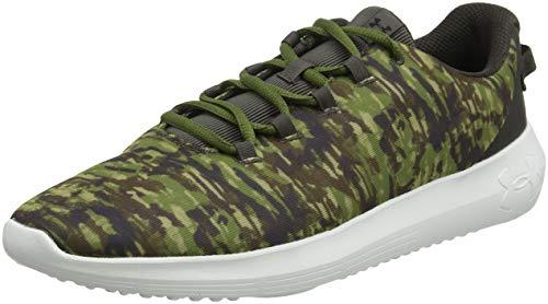Under Armour UA Ripple NM PRNT, Zapatillas de Running Hombre, Marrón (Bitter Chocolate/Trail Green/Onyx White (100) 100), 46 EU