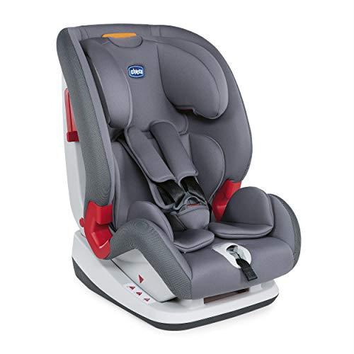 Chicco Chicco YOUniverse - Silla de coche grupo 123 (9-36kg) con reductor, color gris (Pearl) - Silla de coche grupo 1/2/3, Color Pearl
