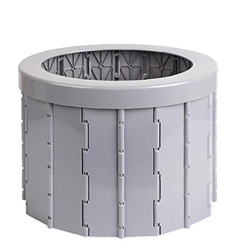 WC Portátil Plegable Que Acampa, WC con Orinal para IR Al Baño...