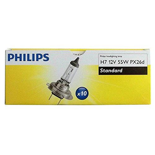 PHILIPS GLÜHBIRNEN H7 12V 55W PX26d HALOGEN