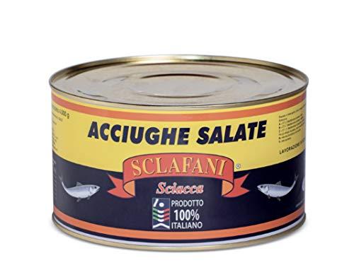Acciughe Salate di Sciacca 100% artigianali 2 Kg.