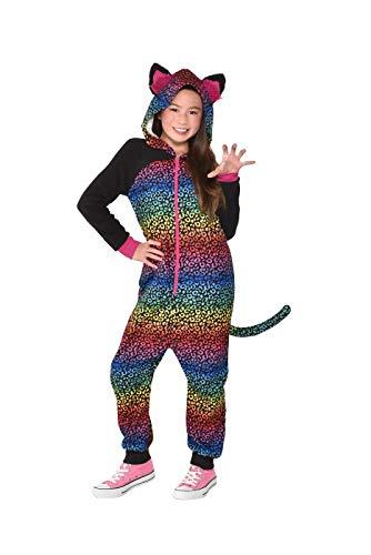 Amscan 8401457 Rainbow Spots Zipster Costume Set - Medium