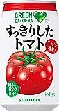 サントリー GREEN DA・KA・RA(グリーンダカラ) すっきりしたトマト 350g缶 24本入×2 まとめ買い