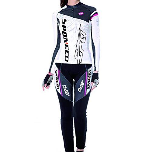 sponeed Womens Cycling Jersey Lo...