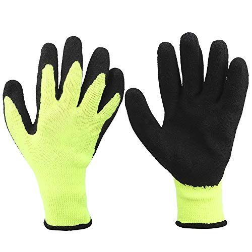 Guantes de trabajo a prueba de frío, resistente al corte -20 ℃ Protector de manos resistente al desgaste, impermeable, antideslizante para frío extremo, para almacenamiento en frío(8)