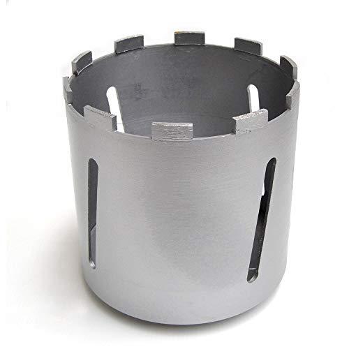 SUPERSAMASTORE Fresa foretto al Diamante per carotatrice Ø 162 mm - Lunghezza 160mm