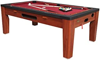 6 in 1 Multi Game Table Finish: Cherry
