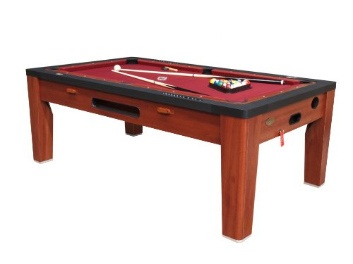 Best Buy! 6 in 1 Multi Game Table Finish: Cherry