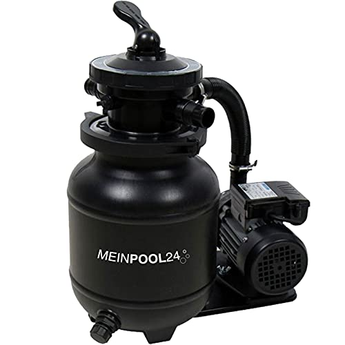 MEINPOOL24.DE Filteranlage Speed Clean Classic 250N Poolfilter Sandfilter für Pools bis 19.000 Liter