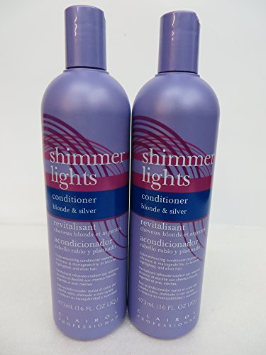 Clairol Professional Shimmer Lights Color Enhancing Conditioner 16 oz (Pack of 2)