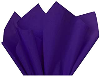 Flexicore Packaging | Purple Gift Wrap Tissue Paper | Size: 15 Inch X 20 Inch | Count: 10 Sheets | Color: Purple | DIY Craft, Art, Wrapping