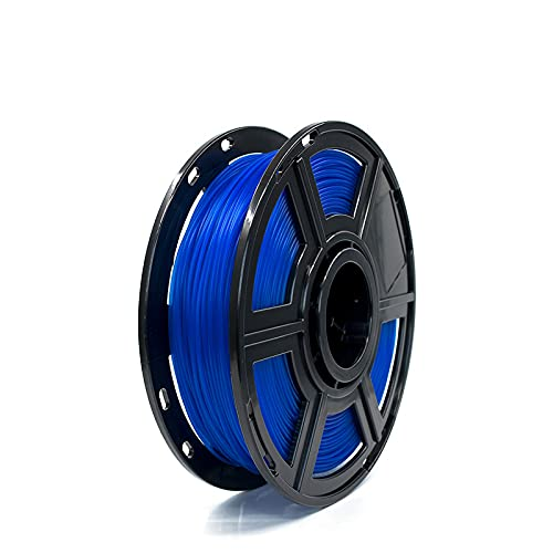 MUYUNXI 3d Printing Materials 3d Printer PLA Filament 1.75mm For 3D Printer Dimensional Accuracy +/- 0.02mm 0.5kg 1 Spool(Color:Transparent blue)