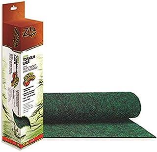 Zilla Reptile Terrarium Bedding Substrate Liner, Green, 55G