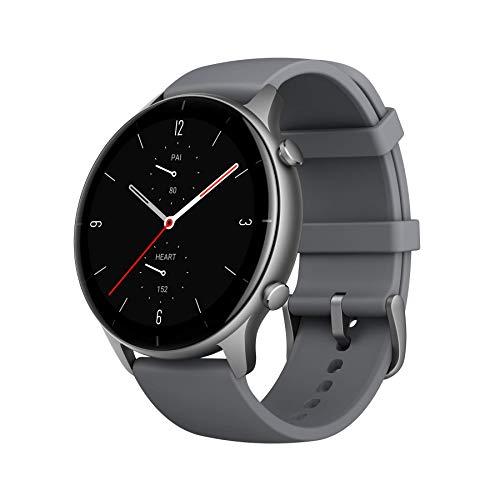 Amazfit GTR 2e Smartwatch, 90 Sportmodi, 5 ATM, Batterielebensdauer 25 Tage, Messung der Sauerstoffsättigung im Blut