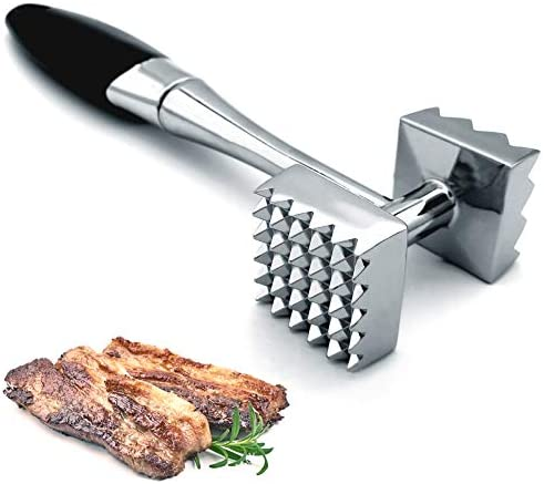 Meat Tenderizer Dual Sided Nails Meat Mallet Meat Hammer Used for Steak Chicken Fish Meat Pounder product image
