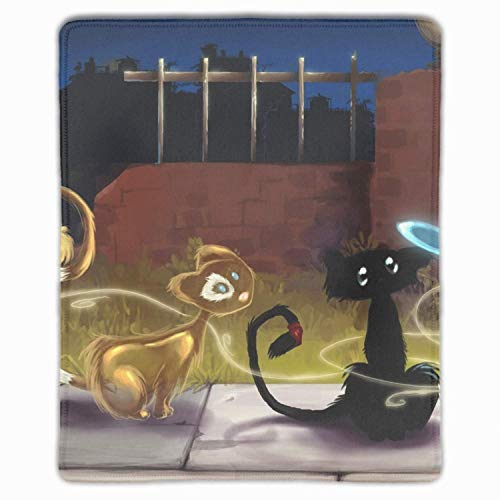 N\A Cartoon Cats Mouse Pad Divertente
