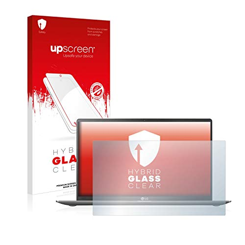 upscreen Hybrid Glass Panzerglas Schutzfolie kompatibel mit LG Gram 15'' 9H Panzerglas-Folie