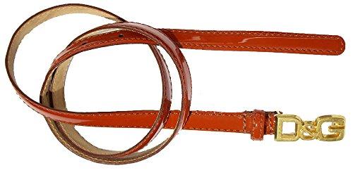 D&G Cintura donna asta dritta Vernice DC0695E10F col. Rosso tg. 90 cm