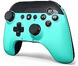 STOGA Controlador inalámbrico para Switch / Lite Fresh Green, Gamepad Joystick con Gyro de 6 ejes, Auto Turbo, Cute Gamepad Joypad Reemplazo remoto para el controlador Nintendo Switch