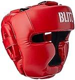 Blitz Club Full Contact - Casco de Boxeo, Color Rojo, Talla S