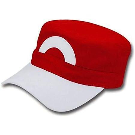 Anime Cosplay Pokemon Cap Pocket Monsters ash Ketchum Satoshi Snapback Baseball Cap Red