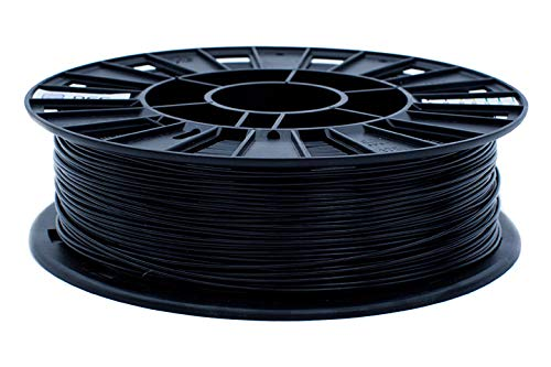 REC Premium 3D Printer Filament, (Black, PETG), 1.75 mm Dimensional Accuracy +/- 0.03 mm,0.75 kg Spool